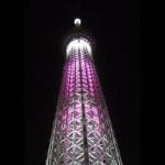 【イベント】 東京スカイツリー ライトアップ「桜特別ライティング」 【ライトアップ】
