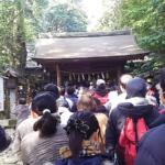 【行ってきた】初詣 2日 諏訪神社