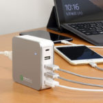 【今日の上海問屋】「5ポート USB充電器[Type-C & QC3.0 搭載 急速充電 最大出力合計8A)」こりゃすごい。Type-CとQC3.0搭載のスリムな強力急速充電器