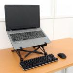 【今日の上海問屋】「コンパクトに折り畳める ノートパソコンスタンド」これはちょっと魅力的だわ。使いたい!