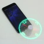 【今日の上海問屋】「LED時計表示機能搭載 スマホ用扇風機(microUSB/Type-C接続)」ネタアイテム大好きですw